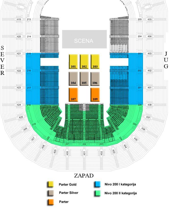 Bečki Štraus orkestar, Beogradska Arena, karte za Arenu, Tiket Klub