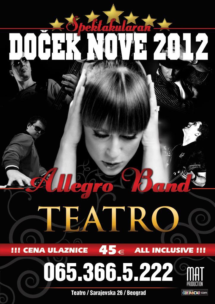 TEATRO - DOČEK 2012, Tiket Klub