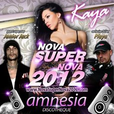 Amnesia, Kaya, Juior Jack, Deejay Playa Doček Nove 2012 godine, Tiket Klub
