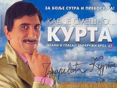 """KAD JE SMEŠNO... KURTA ""- SLAVIJA, tiket Klub"