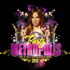 Metropolis Party 2012 Doček Nove 2012 godine, tiket klub