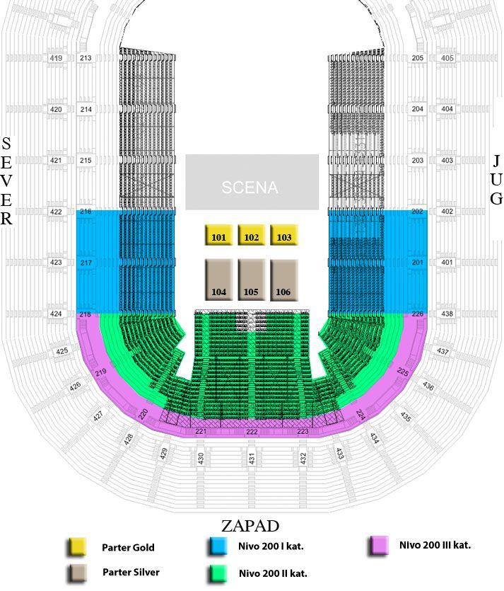 PINK MARTINI - Arena, Tiket Klub