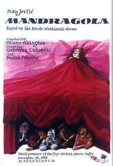 Mandragola (Opera) - Madlenianum, Tiket Klub