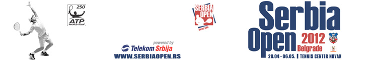 Serbia open 2012 - Belgrade, Tiket Klub
