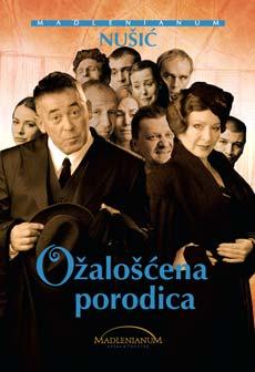 OŽALOŠĆENA PORODICA (Komedija) - Madlenianum, Tiket Klub
