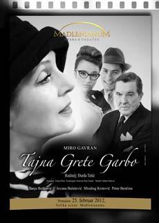 Tajna Grete Garbo (Drama) - Madlenianum, Tiket Klub
