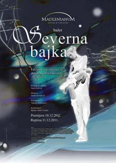 SEVERNA BAJKA (Balet) - Madlenianum, Tiket Klub