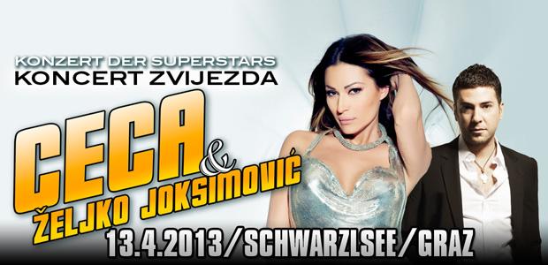 CECA & Zeljko Josimovic - Graz, Austrija, Tiket klub