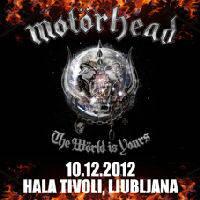 Motörhead - Ljubljana, Tiket Klub