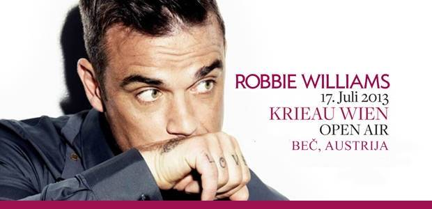 Robbie Williams - Wien, Austrija, Tiket Klub