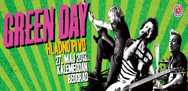 GREEN DAY - Kalemegdan, Tiket Klub