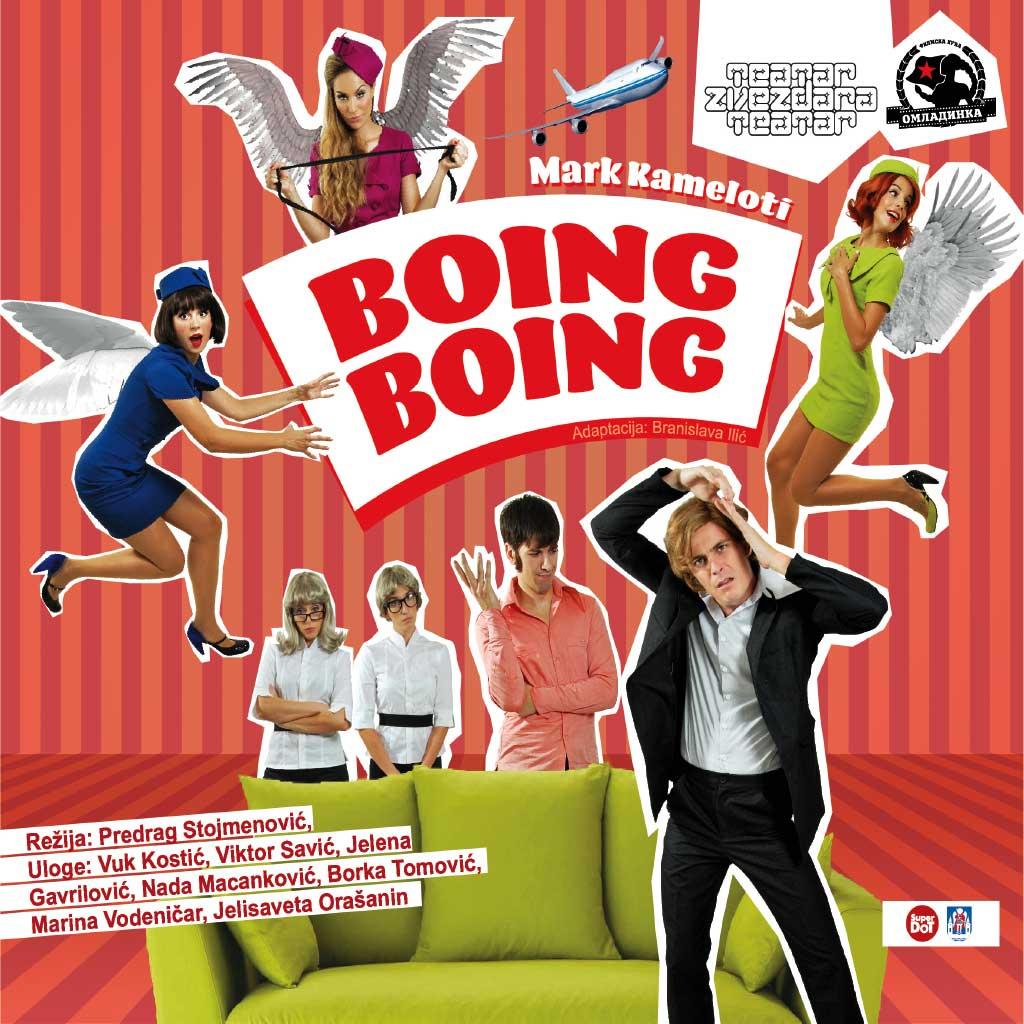 Boing Boing - ZVEZDARA TEATAR, Tiket Klub