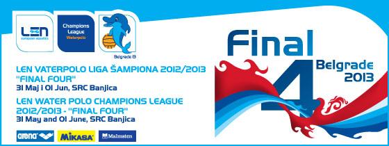 Vaterpolo - Final Four 2013 - Liga Šampiona, Tiket klub
