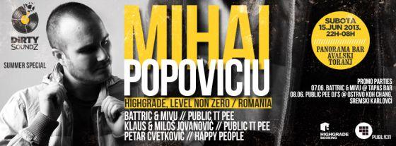 MIHAI POPOVICIU - Avalski plato, Tiket Klub