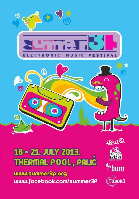 Summer3p festival - Termalni Bazen, Tiket Klub
