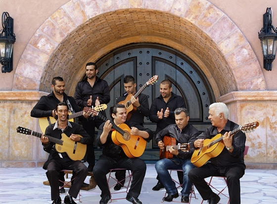 SEVEN KINGS FAMILY OF GIPSY KINGS - OTVORENI BAZEN - SPENS, Tiket Klub