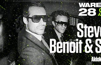 STEVE BUG I BENOIT & SERGIO - WAREHOUSE, Tiket Klub