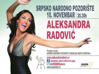 ALEKSANDRA RADOVIĆ - Srpsko narodno pozorište, Novi Sad
