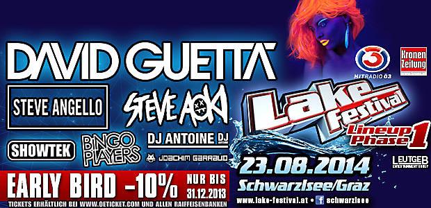 Lake Festival - Schwarzl Freizeitzentrum -Graz, Austrija, Tiket Klub