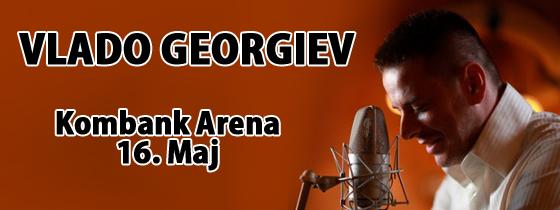Vlado Georgiev - KOMBANK Arena, Tiket Klub