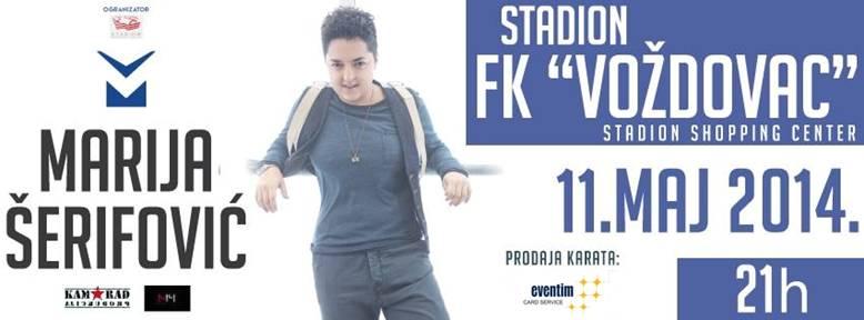 MARIJA ŠERIFOVIĆ - TC Stadion, Tiket Klub