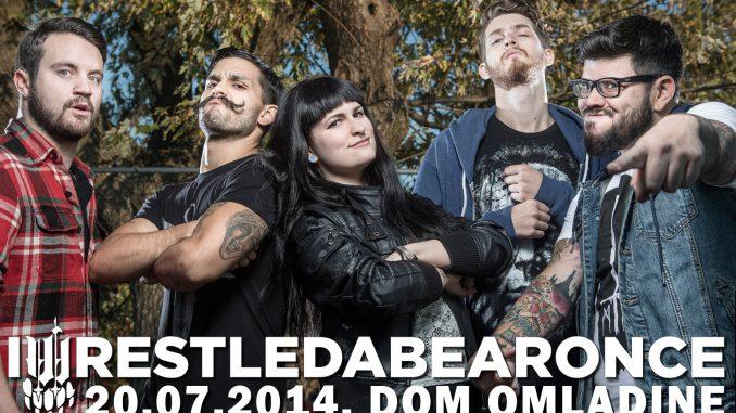 IWRESTLEABEARONCE - Dom omladine Beograda, Tiket Klub