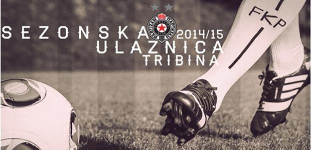 FK PARTIZAN - Sezonske 2014\2015, Tiket Klub
