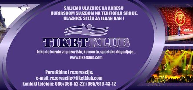 ANSAMBL MOISEYEV - Sava Centar, Tiket Klub