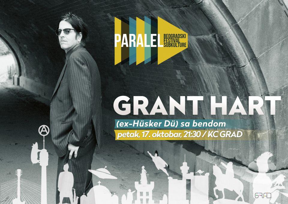 GRANT HART - Kulturni Centar Grad, Tiket Klub