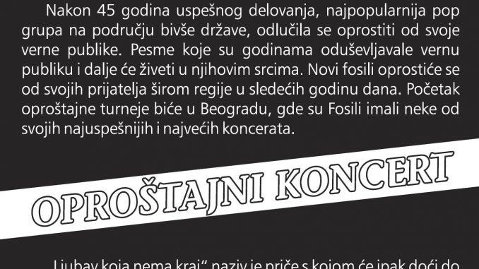 NOVI FOSILI – SPENS, Tiket Klub, Tiket Klub