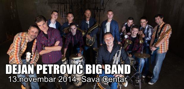 Dejan Petrović Big Band - Sava Centar, Tiket Klub