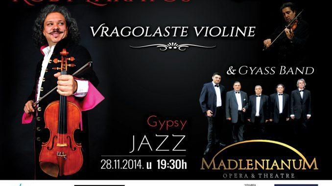 ROBY LAKATOS - Laszlo Boni & Gyass Band - Madlenianum, Tiket Klub
