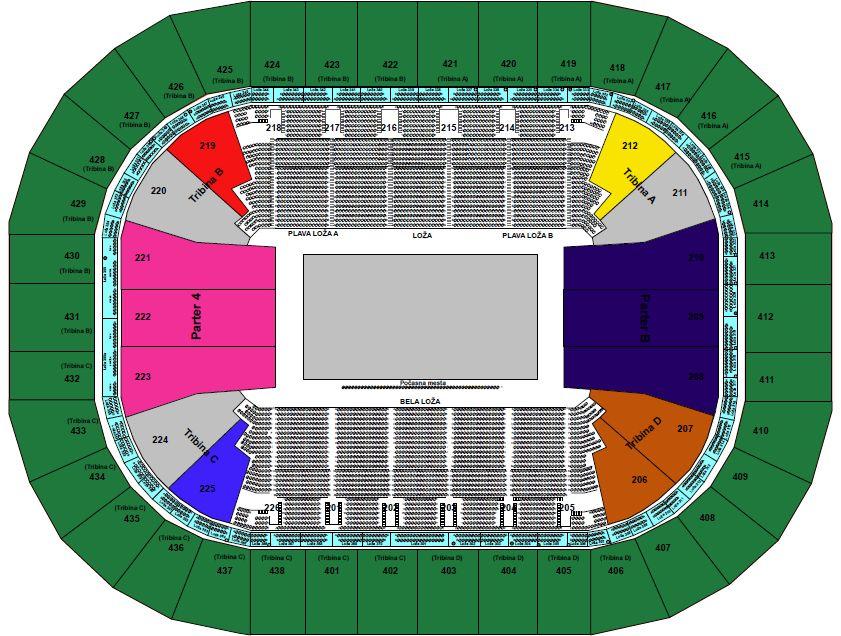 KK Crvena Zvezda - Real Madrid - Kombank arena, Tiket Klub