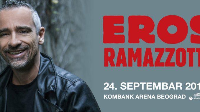 EROS RAMAZZOTTI - KOMBANK Arena, Tiket Klub