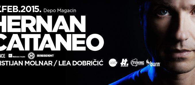 Hernan Cattaneo - Magacin Depo, Tiket Klub