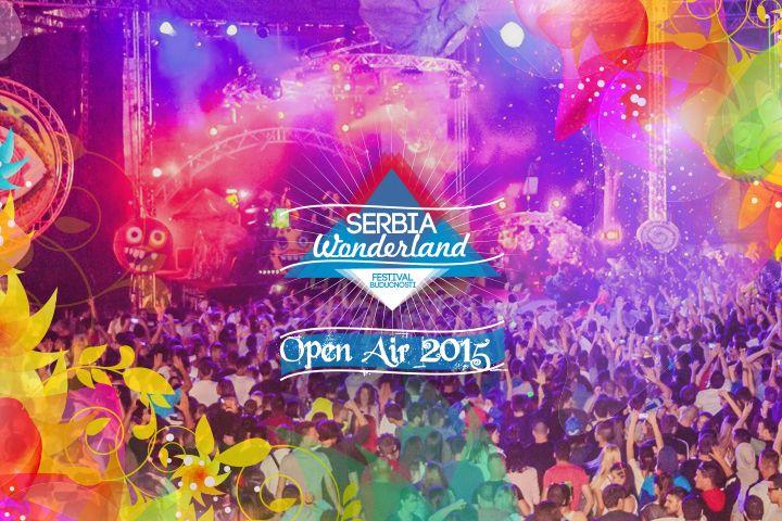 Serbia Wonderland Open Air Festival 2015 - Beogradska Tvrđava - Tereni KK Partizan