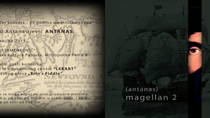 Antanas - MAGELLAN 2 - UK Palilula, Tiket Klub
