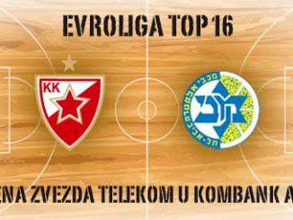 Crvena Zvezda - Makabi - Kombank arena