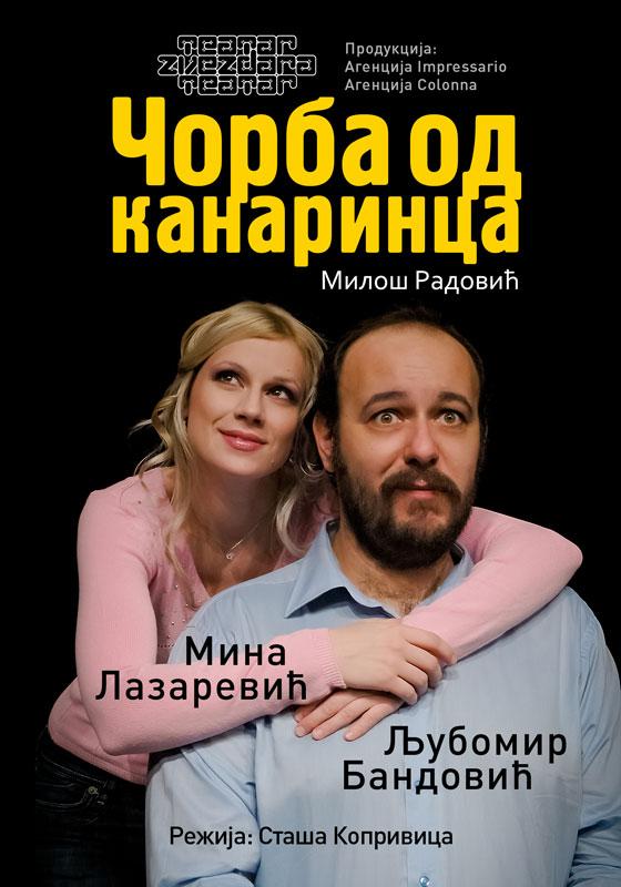 ČORBA OD KANARINCA - Pozorište Mladih - Novi Sad, Tiket Klub