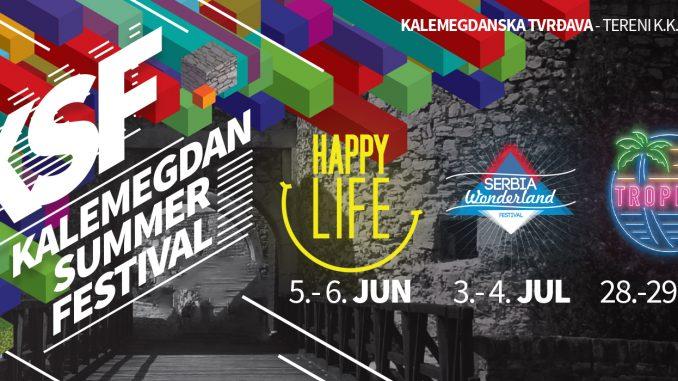 Kalemegdan Summer Festival - Beogradska Tvrđava - Tereni KK Partizan, Tiket Klub