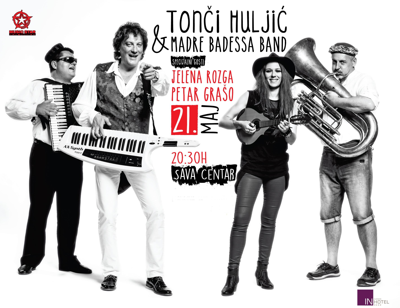 Tonči Huljić & Madre Badessa Band - Sava Centar, Tiket Klub