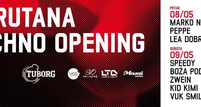 BARUTANA TECHNO OPENING - Barutana, Tiket Klub
