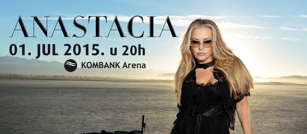 ANASTACIA - KOMBANK Arena, Tiket Klub