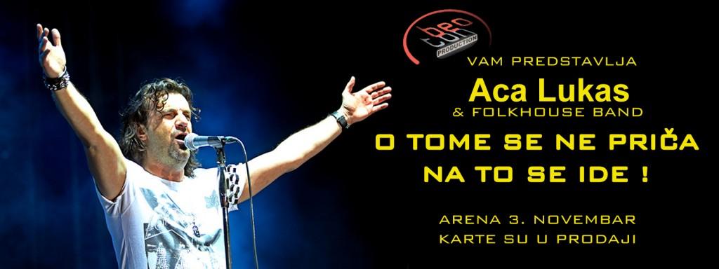 ACA LUKAS & FOLK HOUSE BAND - KOMBANK Arena, Tiket Klub