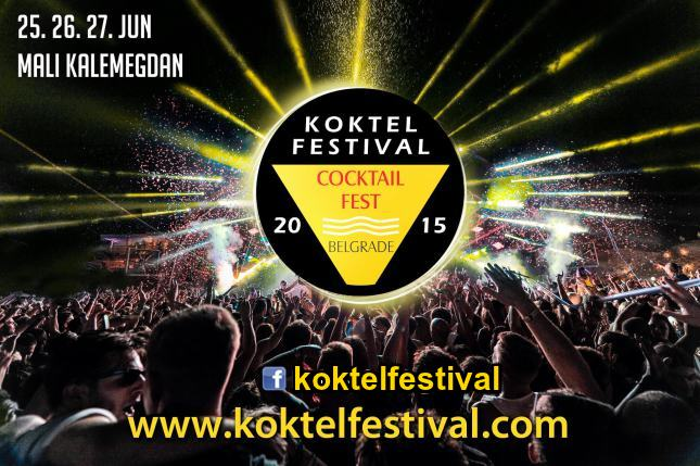 Koktel festival 2015 - Mali Kalemagdan, Tiket Klub