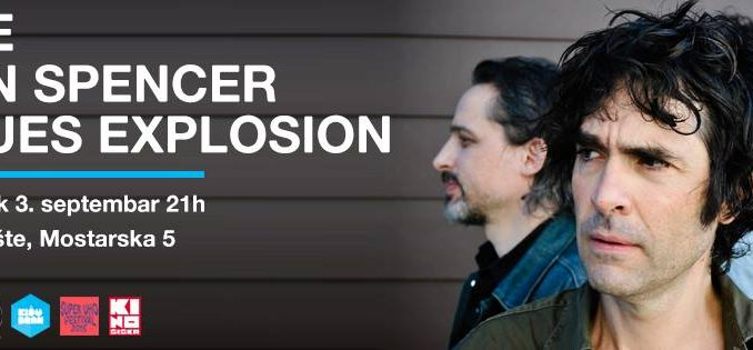 THE JON SPENCER BLUES EXPLOSION - Miksalište, Tiket Klub