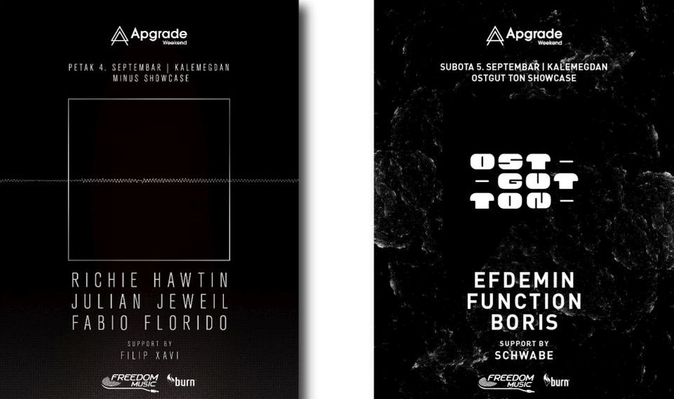 APGRADE WEEKEND - RICHIE HAWTIN - Kalemegdan, Tiket Klub