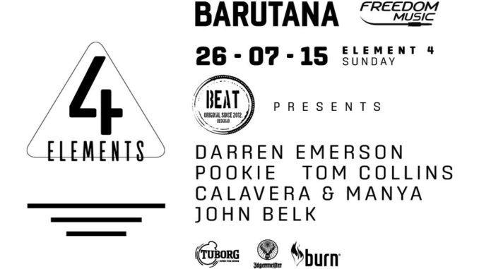 4Elements - Barutana, Tiket Klub