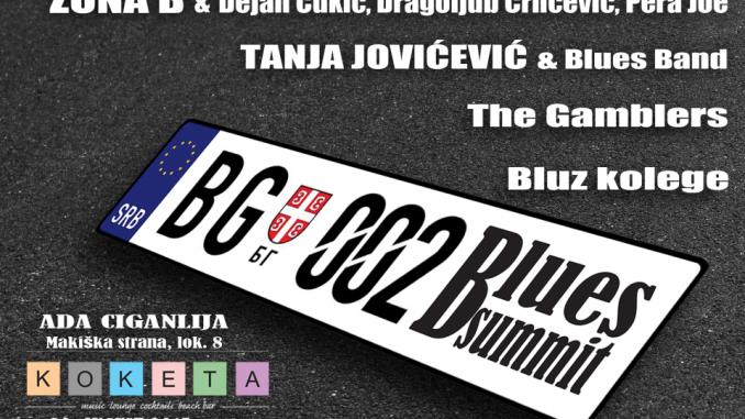 BLUES SUMMIT 02 - KLUB KOKETA, Tiket Klub