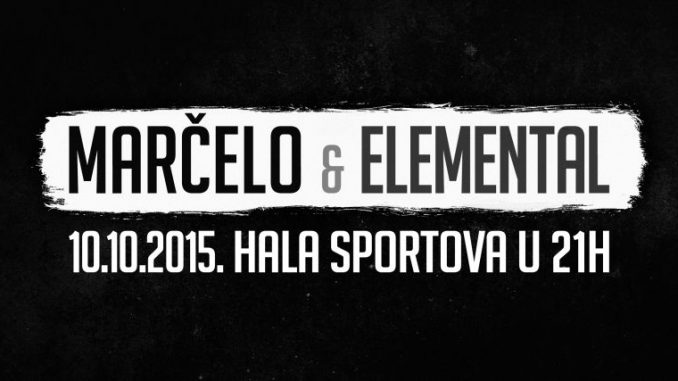 Marčelo i Elemental - Hala sportova, Tiket Klub